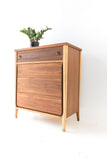 Mid Century Sculpted Highboy