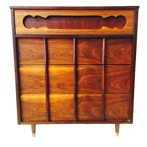 Mid Century Cherry Highboy