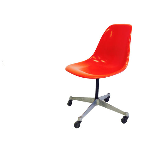 Herman Miller Swivel Chair - Orange
