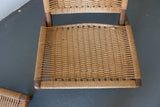 Pair of Woven Rope Chairs