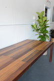 Mid Century Modern Parsons Dining Table