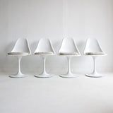 Set of Eero Saarinen Style Tulip Chairs
