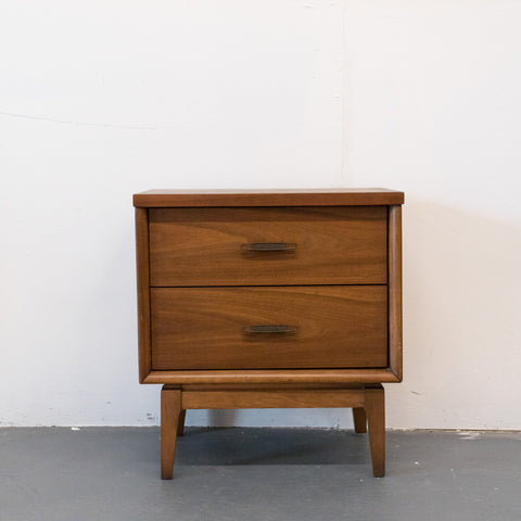 Single Walnut Nightstand