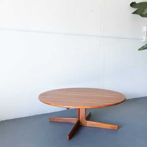 Danish Teak Solid Coffee Table