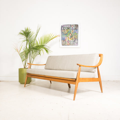 Mid Century Modern Sofa by Tell City