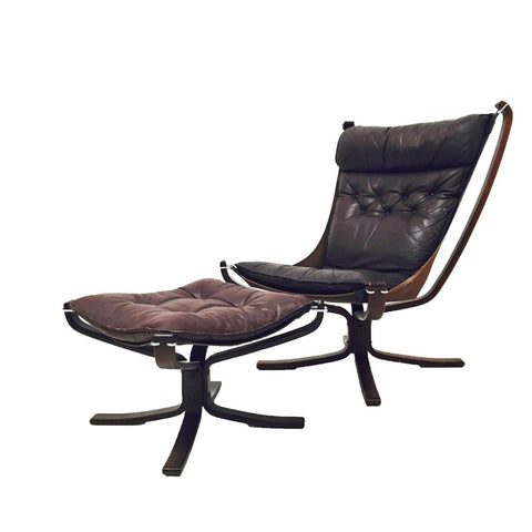 Falcon Easy Chair and Ottoman