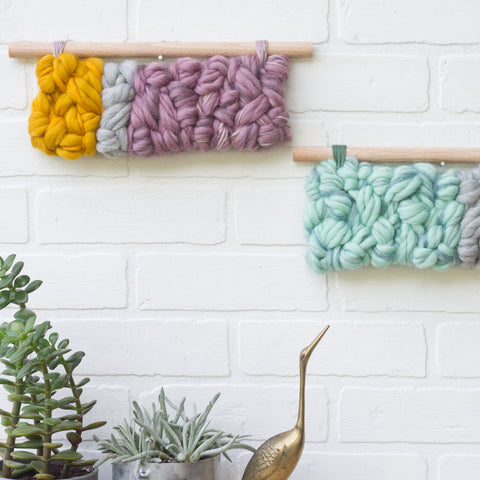 Mini Horizontal Woven Wall Hanging