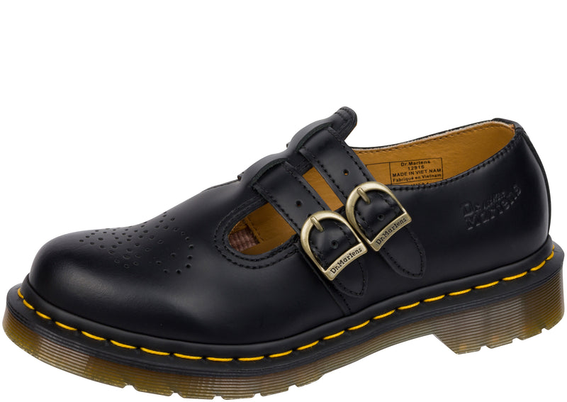 Dr Martens 8065 Mary Jane Black Smooth