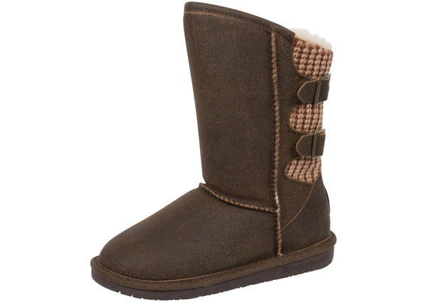 Bearpaw Womens Boshie Distressed Chestnut