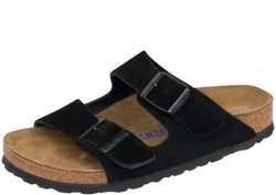 Birkenstock Womens Arizona Suede Black