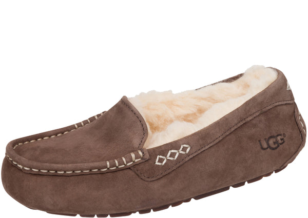 UGG Womens Ansley Suede Chocolate