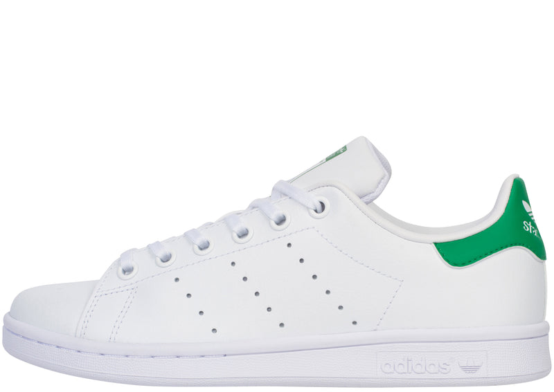 adidas Kids Stan Smith White White Green