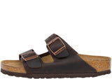 Birkenstock Womens Arizona Soft Oiled Leather Habana Thumbnail 4