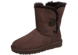 UGG Womens Bailey Button II Chocolate Thumbnail 2