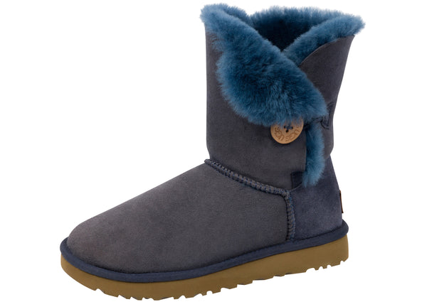 UGG Womens Bailey Button II Navy