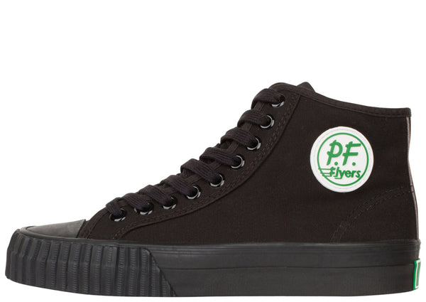 PF Flyers Center Hi Canvas Sandlot Black
