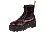 Dr Martens Vegan Jadon II Cambridge Brush Cherry Red Thumbnail 2