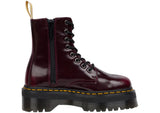 Dr Martens Vegan Jadon II Cambridge Brush Cherry Red Thumbnail 6