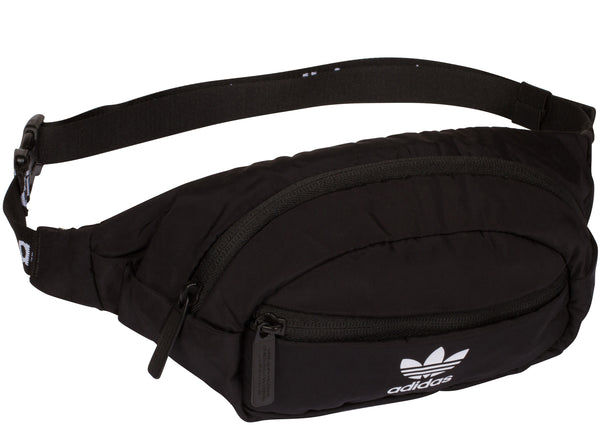 adidas Originals National Waist Pack Black White