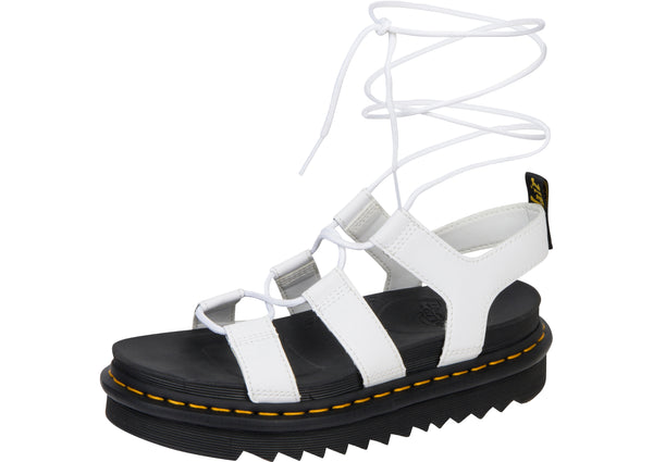 Dr Martens Womens Nartilla Hydro Leather White