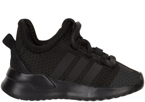 adidas Toddlers U Path Run Black Black White