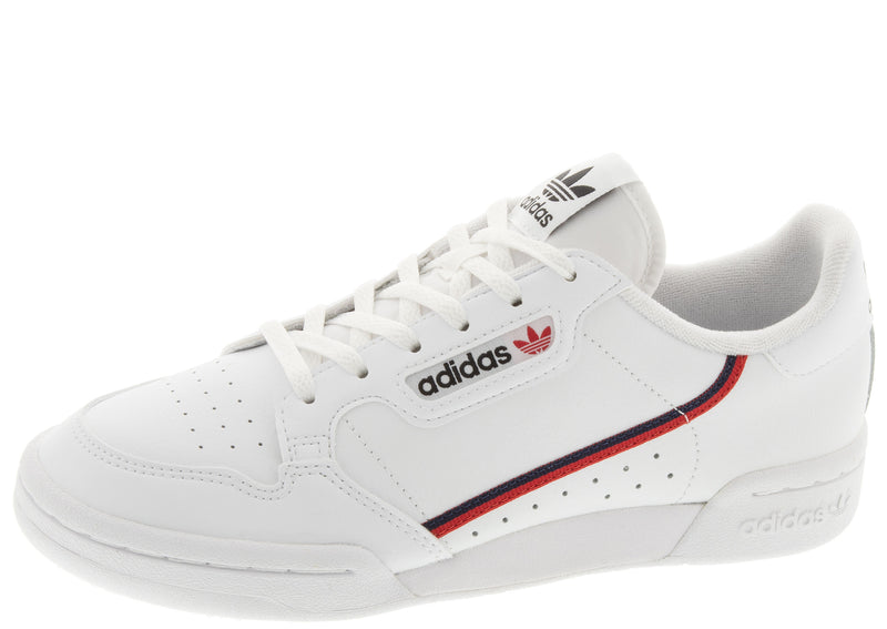 adidas Kids Continental 80 White Scarlet Navy