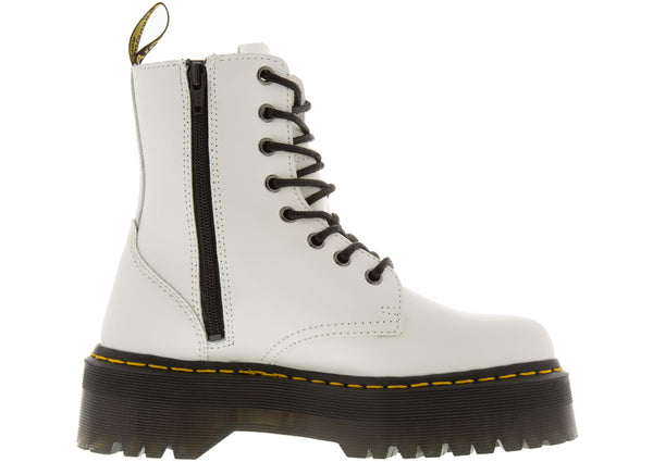 Dr Martens Jadon Polished Smooth White
