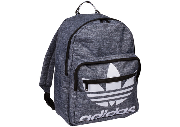 adidas Trefoil Pocket Backpack Onix Jersey Black