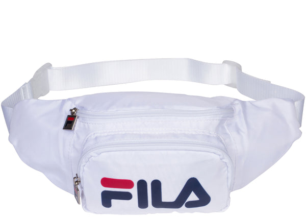 FILA Fanny Pack White Chinese Red