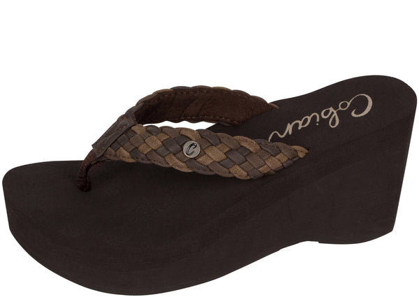 Cobian Womens Zoe Chocolate