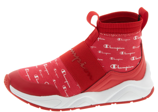Champion Womens Rally Script Scarlet