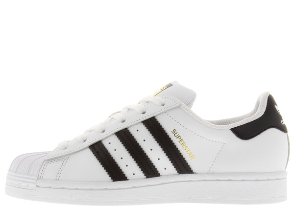 adidas Kids Superstar White Black White