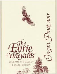 Eyrie Vineyards Willamette Valley Pinot noir 2015
