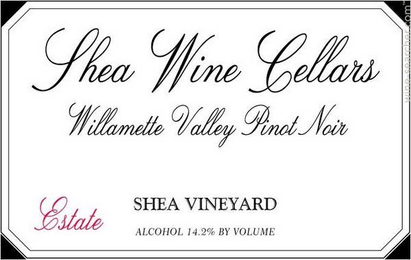 Shea Wine Cellars Estate Pinot Noir 2014