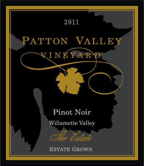 Patton Valley The Estate Pinot Noir 2013