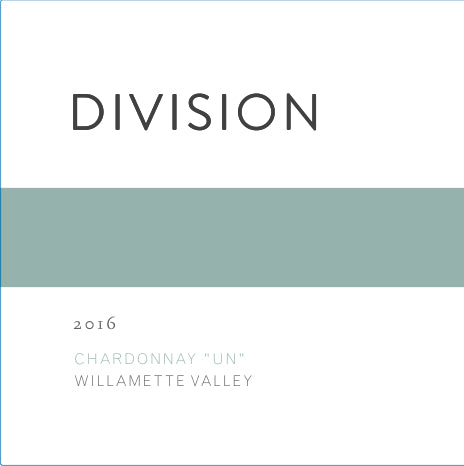Division Willamette Valley Un Chardonnay 2017