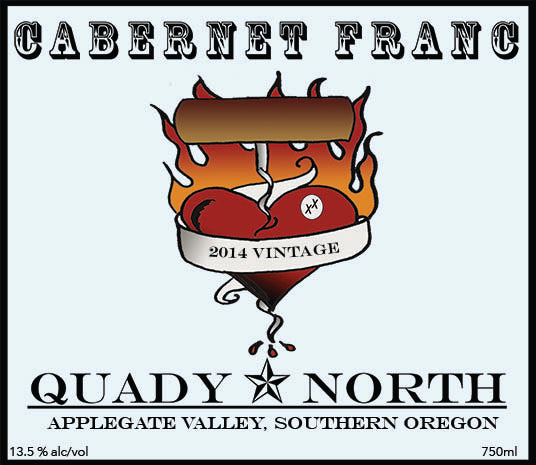 Quady North Cabernet Franc Applegate Valley 2014