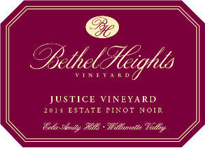 Bethel Heights Flat Block Pinot noir 2014