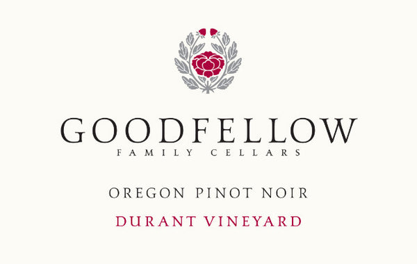 Goodfellow Family Cellars Durant Vineyard Pinot noir 2017