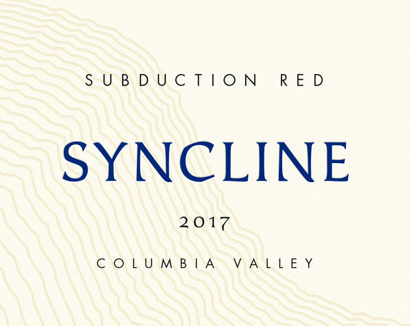 Syncline Subduction Columbia Valley Red 2017