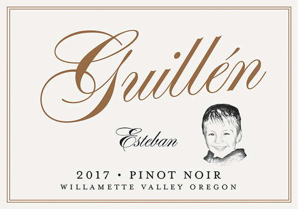Guillen Family Esteban Pinot Noir 2017