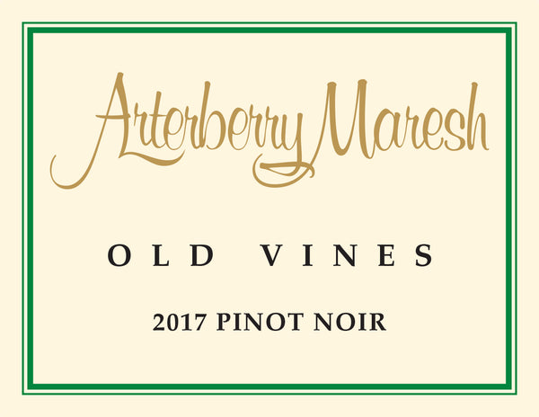 Arterberry Maresh Old Vines Pinot noir 2017
