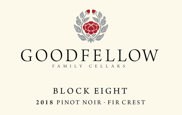 Goodfellow Fir Crest Block Eight Pinot noir 2018