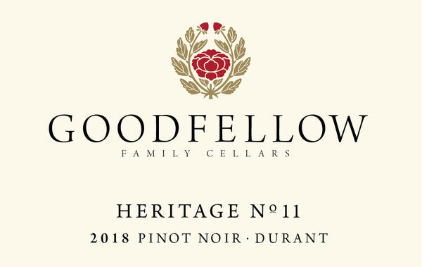 Goodfellow Heritage No. 11 Durant Pinot noir 2018