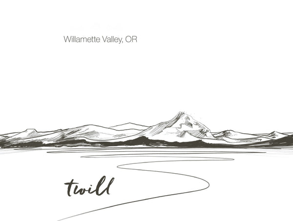 Twill Willamette Valley Pinot Three Vintage Vertical CASE
