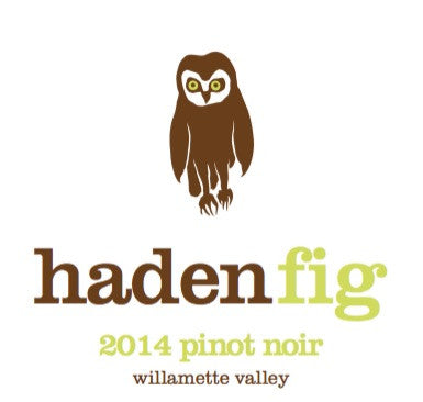 Haden Fig Willamette Valley Pinot noir 2016