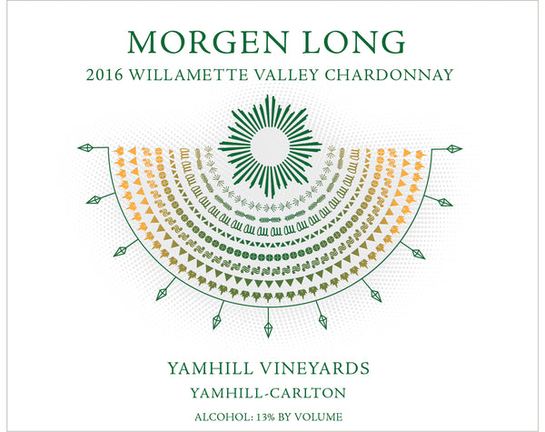 Morgen Long Yamhill Vineyards Chardonnay 2016