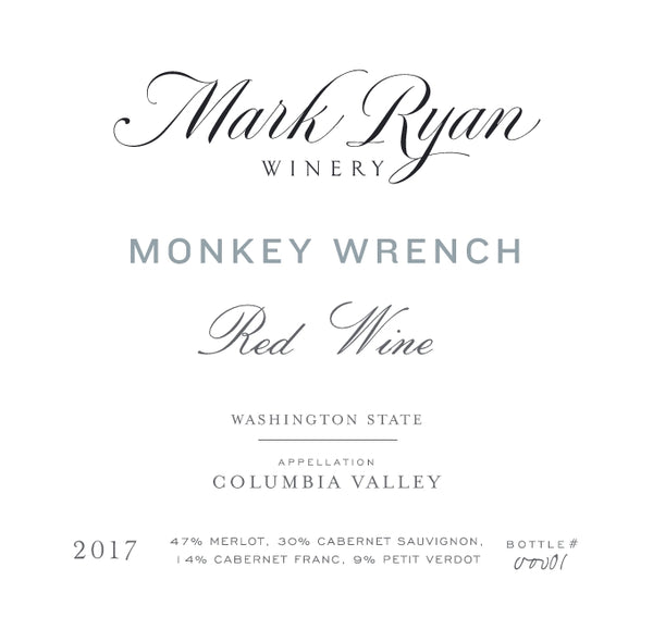 Mark Ryan Monkey Wrench 2017