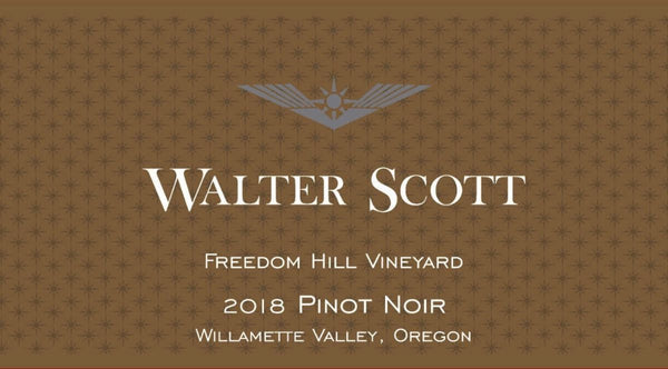 Walter Scott Freedom Hill Vineyard Pinot noir 2018