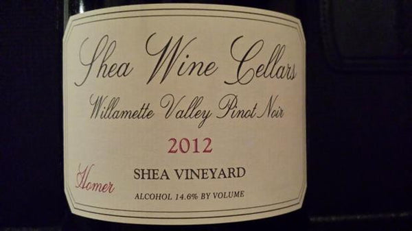 Shea Wine Cellars Homer Pinot Noir 2013